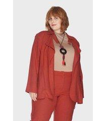 trench coat nilo caribe plus size passy feminino - feminino