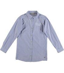 garcia langere blouse dark sky blue