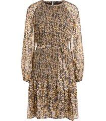 jurk met luipaardprint vani  multi