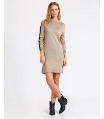 vestido tejido block