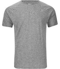 camiseta estampada para descanso color gris, talla l
