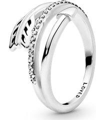 anel brilhante flecha do cupido