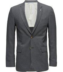 the slim club blazer blazer colbert grijs gant