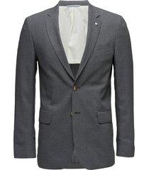 the slim club blazer blazer colbert grijs gant