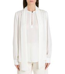 marni shawl neck blouse