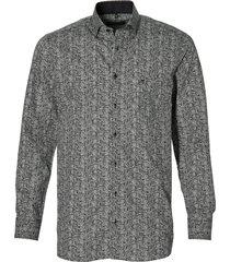 casa moda overhemd - regular fit - grijs