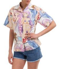 camicia donna maniche corte hentai