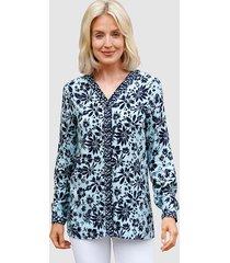 blouse paola lichtblauw::marine
