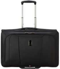 closeout! delsey helium 360 spinner carry-on garment bag, created for macy's