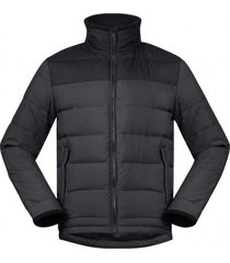 bergans jas men oslo down light solid charcoal black-xl