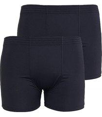 kit 2pçs cuecas boxer microfibra linha noite 607 preto - kanui