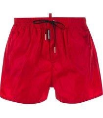dsquared2 logo tab swim shorts