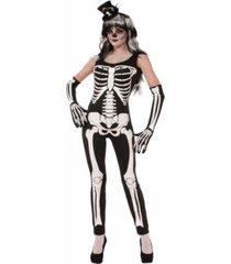 buyseason women's skeleton jumpsuit costume