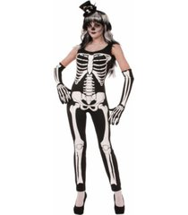 buyseason women's skeleton jumpsuit costume