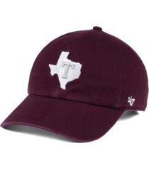 '47 brand texas a & m aggies clean up cap