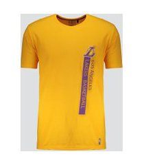 camiseta nba los angeles lakers flush amarela