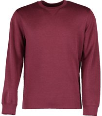 cotton and silk crewneck shirt