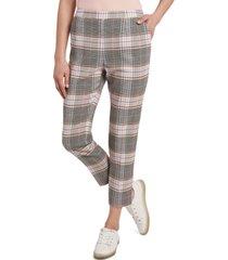 riley & rae warren plaid pants, created for macy's