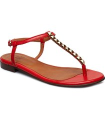 shoes 8623 shoes summer shoes flat sandals röd billi bi