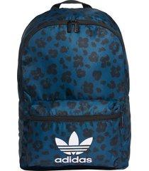 mochila azul adidas classic