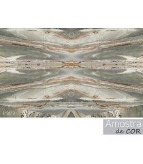 mesa lateral redonda 32,5 petra pé de ferro dourado- líder design
