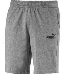 pantaloneta ess jersey short puma hombre 851994 03 gris