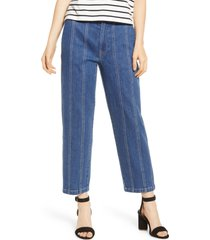 women's madewell seamed edition tapered jeans