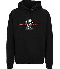 helmut lang figure hoodie