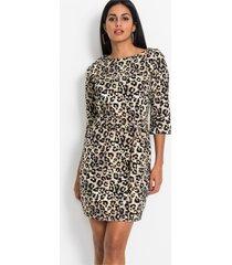 jurk met animalprint