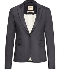 blake night blazer sustainable blazers casual blazers blå mos mosh