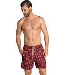 masculino swimwear pantaloneta rojo leo 505029