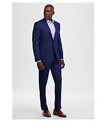 reserve collection tailored fit plaid men's suit by jos. a. bank