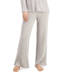 charter club luxe ribbed pajama pants, created for macy's