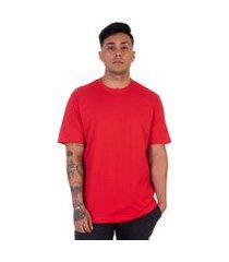 camiseta lucas lunny t shirt gola redonda vermelha