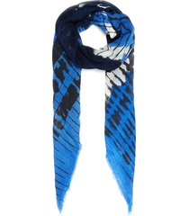 'ever' graphic print scarf