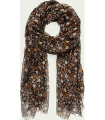 scotch & soda printed lightweight tencel™ scarf