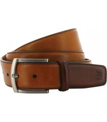 cinturon wibaux ombre belt marrón cat