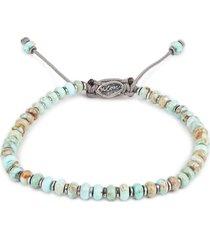 axis turquoise bracelet