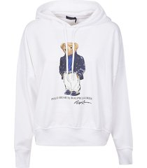 ralph lauren bear hoodie