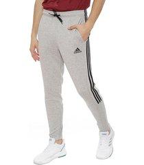 pantalón de buzo adidas performance mh 3s tiro p ft gris - calce regular