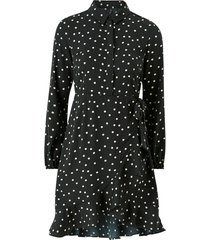 klänning vmwindy henna l/s shirt dress