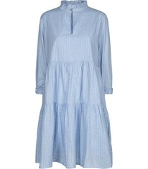 lurex jurk lizzy  blauw