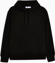 mens black overhead hoodie