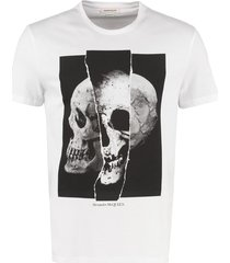 alexander mcqueen crew-neck cotton t-shirt