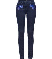 jeans con fiori (blu) - bpc selection premium