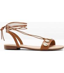 sandalett med snörning