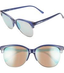 women's smith rebel 58mm chromapop(tm) cat eye sunglasses -