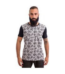 t-shirt bypride caveiras mescla
