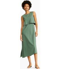 alfani asymmetrical sleeveless dress, created for macy's