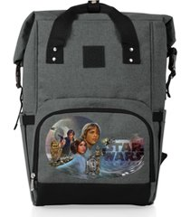 oniva by picnic time star wars celebration on the go roll-top cooler backpack